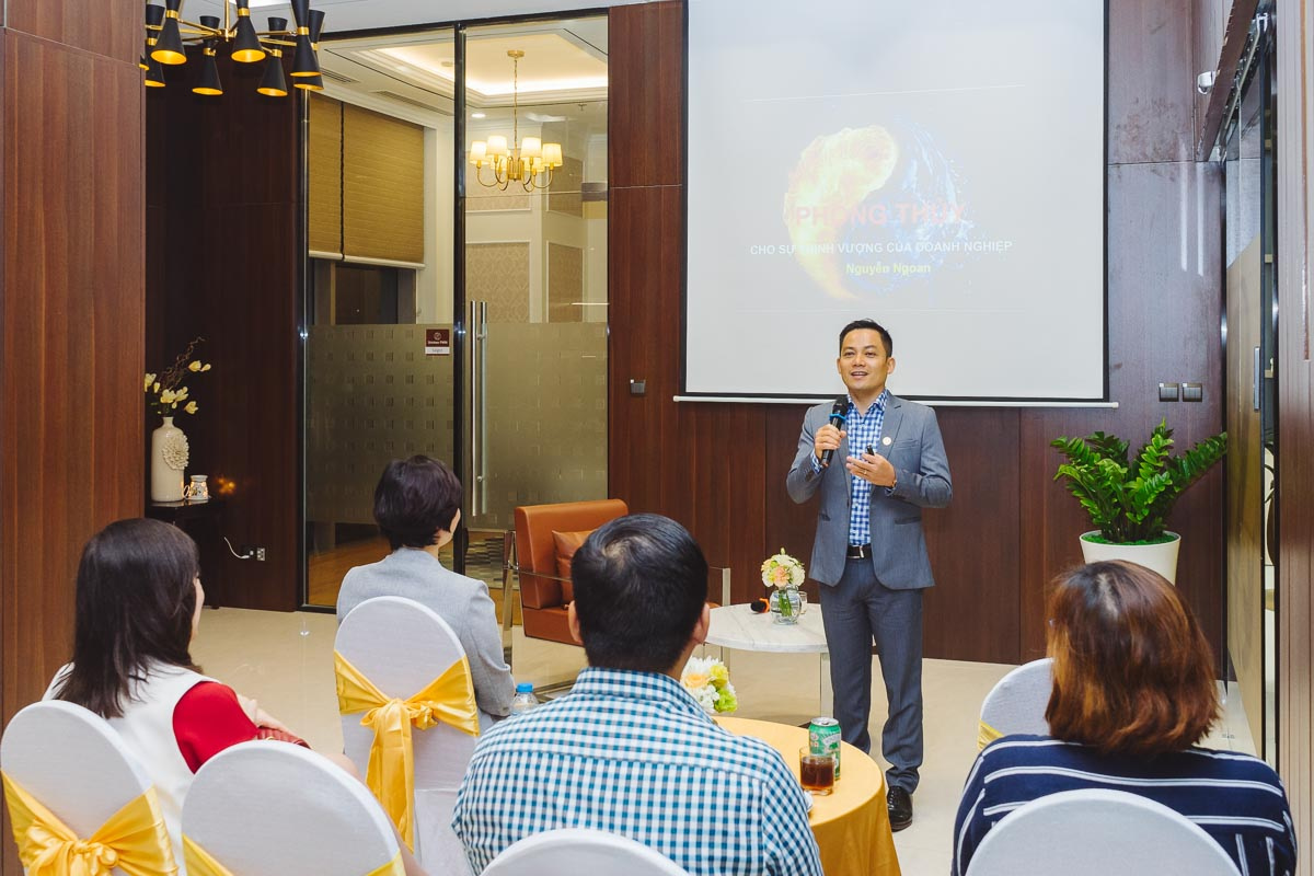 Shinhan PWM Event: Practical Feng Shui | eightyfour Pictures